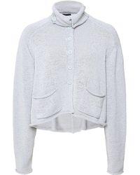 Rundholz - Knitted Short Cardigan - Lyst
