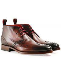 Jeffery West - Leather Switchblade Chukka Boots - Lyst