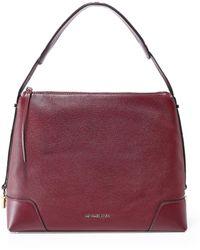 MICHAEL Michael Kors - Leather Crosby Large Shoulder Bag - Lyst