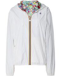 K-Way - Reversible Lily Plus Jacket - Lyst