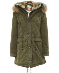 Oakwood - Saphir Long Fur Trim Parka - Lyst