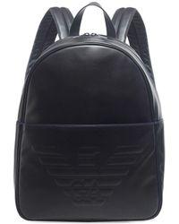 Armani Maxi Logo Backpack