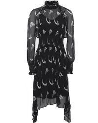 Markus Lupfer - Printed Silk Diver Macy Dress - Lyst