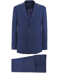 L.B.M. 1911 - Wool Prince Of Wales Check Suit - Lyst