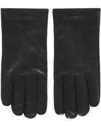 Armani - Nappa Leather Gloves - Lyst