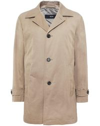 BOSS - Water Repellent Dais15 Trench Coat - Lyst