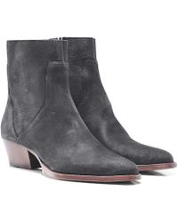 H by Hudson - Beryl Leather Ankle Boots - Lyst