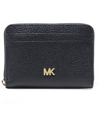 MICHAEL Michael Kors - Small Pebbled Leather Wallet - Lyst