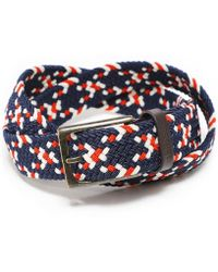 Barbour - Woven Ford Belt - Lyst
