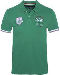 La Martina - Slim Fit Justyn Polo Shirt - Lyst