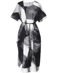 Crea Concept - Dress Black / White 29011 - Lyst