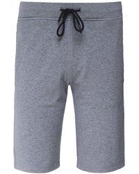 Paul & Shark - Cotton Logo Sweat Shorts - Lyst