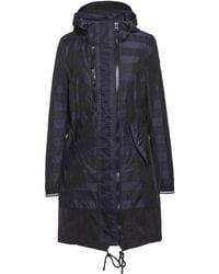 Creenstone - Striped Hooded Coat - Lyst