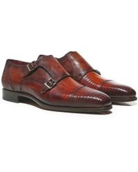 Magnanni - Lizard Leather Hendidos Shoes - Lyst