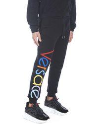 Versace - Jogging logo - Lyst