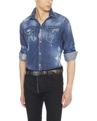 DSquared² - 'western' Shirt - Lyst