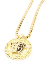 Versace - Medusa Necklace - Lyst