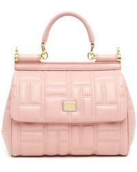 Dolce & Gabbana - 'sicily' Hand Bag - Lyst