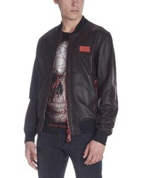 Philipp Plein - Perforated Jacket - Lyst