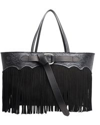 DSquared² - Fringed Tote Bag - Lyst