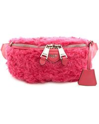 Moschino - Eco Fur Fanny Pack - Lyst