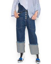 Marques'Almeida - 'fisherman' Jeans - Lyst