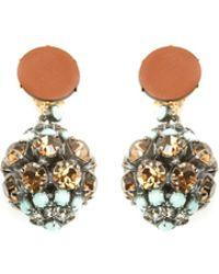 Marni - Strass Earrings - Lyst