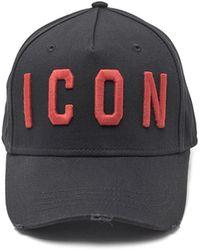 DSquared² - 'icon' Cap - Lyst