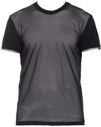 Versace - Perforated T-shirt - Lyst