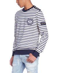 Balmain - Stripes Sweatshirt - Lyst