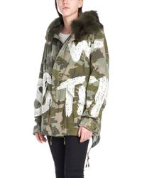 Mr & Mrs Italy - Parka ricamo all over - Lyst
