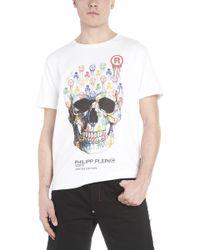Philipp Plein - T-shirt 'Skulls' - Lyst