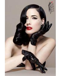 Dita Von Teese - The Erotique Demi Gloves - Lyst