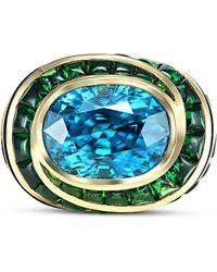 Marina B - Taura Blue Zircon Ring - Lyst