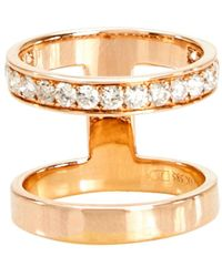 Campbell | Double Stack Ring | Lyst