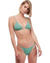 d2f6cc3ec89 Trina Turk Coral Reef Triangle Bikini Top & String Bikini Bottom - Lyst