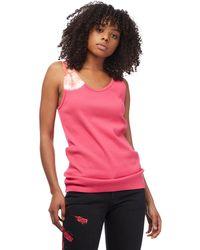 CALVIN KLEIN 205W39NYC - Pink Tie Dye Tank Top - Lyst