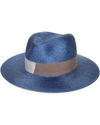 D'Estree - Massimo Fedora Straw Hat - Lyst