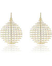 Fernando Jorge - Disco 18-karat Gold Diamond Earrings Gold One Size - Lyst