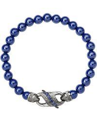 Stephen Webster | England Made Me Blue Beaded Bracelet | Lyst