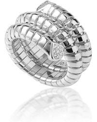 Marina B - Trisola Triple Coil Ring - Lyst