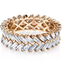 Anita Ko - Zipper Diamond Ring - Lyst