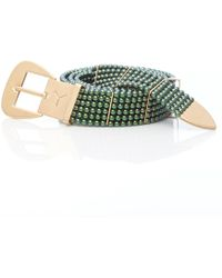 Y. Project - Green Pearl Belt - Lyst