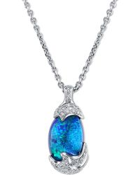 Mimi So - Zozo Boulder Opal Necklace - Lyst