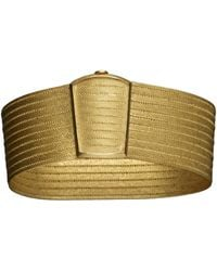 Kirat Young - Gold Cuff - Lyst
