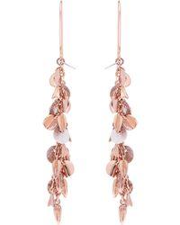 Karen Millen - Sunset Drama Drop Earrings - Lyst