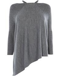 Karen Millen - Knitted Strappy Poncho - Lyst