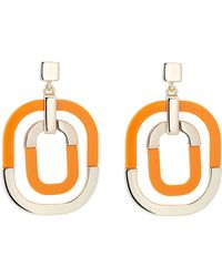 Karen Millen - Contrast Pop Earring - Lyst