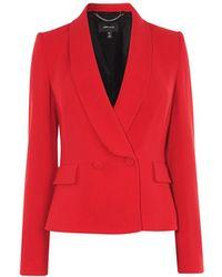 Karen Millen - Waist-emphasis Tailored Jacket - Lyst