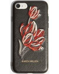 Karen Millen - Embroidered Iphone Case - Lyst